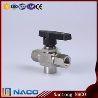 Brass Magnetic 2 Inch Trunnion Lockable Ball Valve Cf8m 1000wog