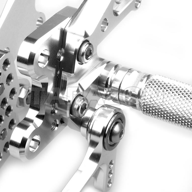 Kawasaki Zzr1400 Cnc Adjustable Billet Race Shift Brake Pedal Rear Sets  Rear Set Footrests - Buy Zzr1400 Adjustable Rear Sets,Cnc Rear Set For