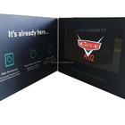 7inch TFT LCD Video Player Greeting Card, Video Brochure, Customized video booklet