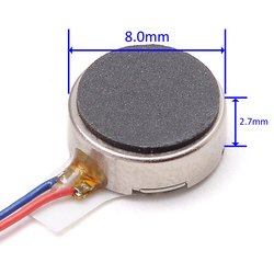 Sex Toy Vibration Motor Mini DC Flat Motor With Coin Shape