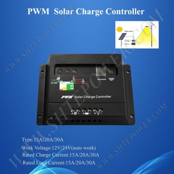Pwm solar batery ladegerät 12v/24v 20a für solarpanel batterie Charge-System