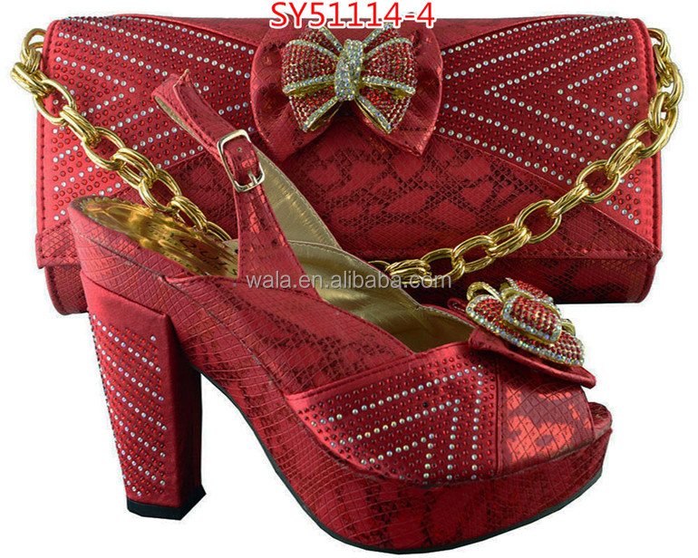 blue shoe SY51114 and and 2 royal bag shoes matching bag italian wholesale set 8q6xREB