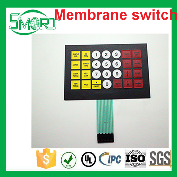 Smart Electronics 3x4 Matrix Array Membrane Switch Keypad 12 Key 4*3 4X3 Keyboard 3*4 Keys Display Switch Control Panel For DIY