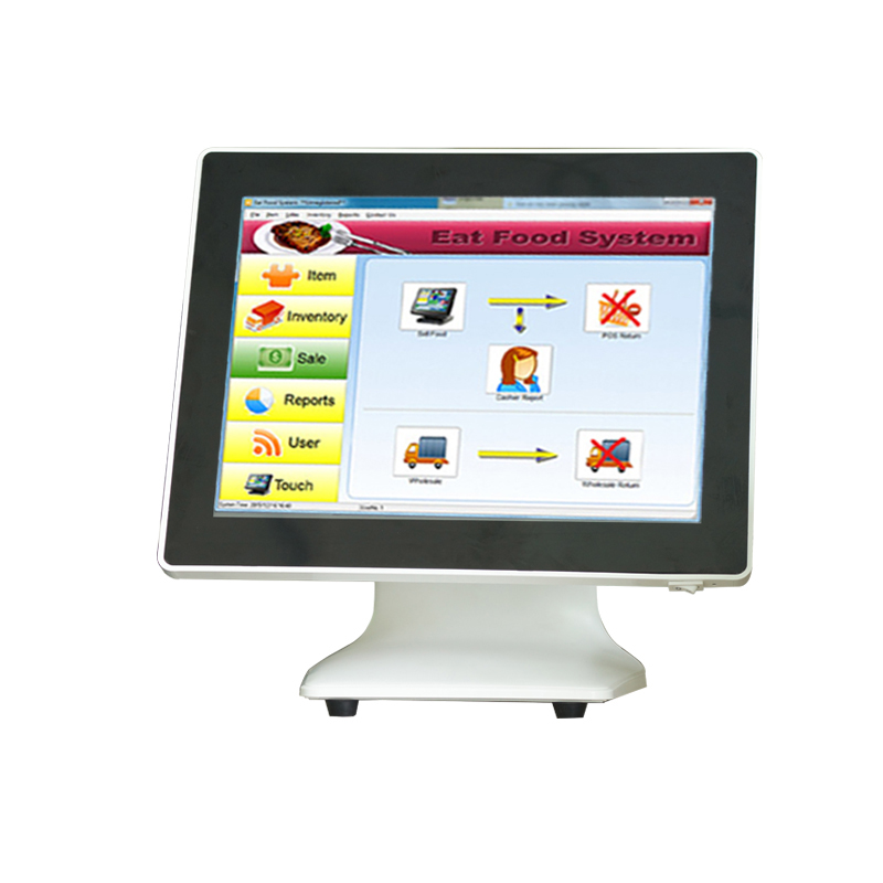 15 Inch Hotel/Business POS Manufacturer Support Windows All In One Cashier Register