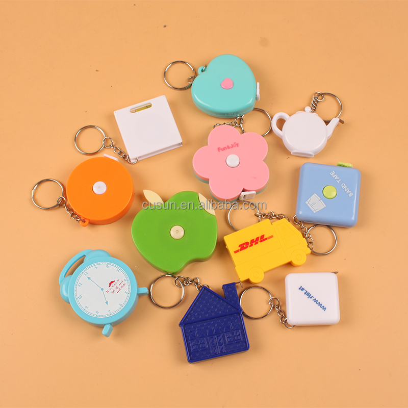 Bsci Mini Tape Measure Keychain