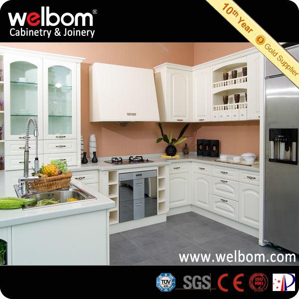 Muebles auxiliares de cocina de melamina de pvc cocinas - Muebles de cocina auxiliares ...