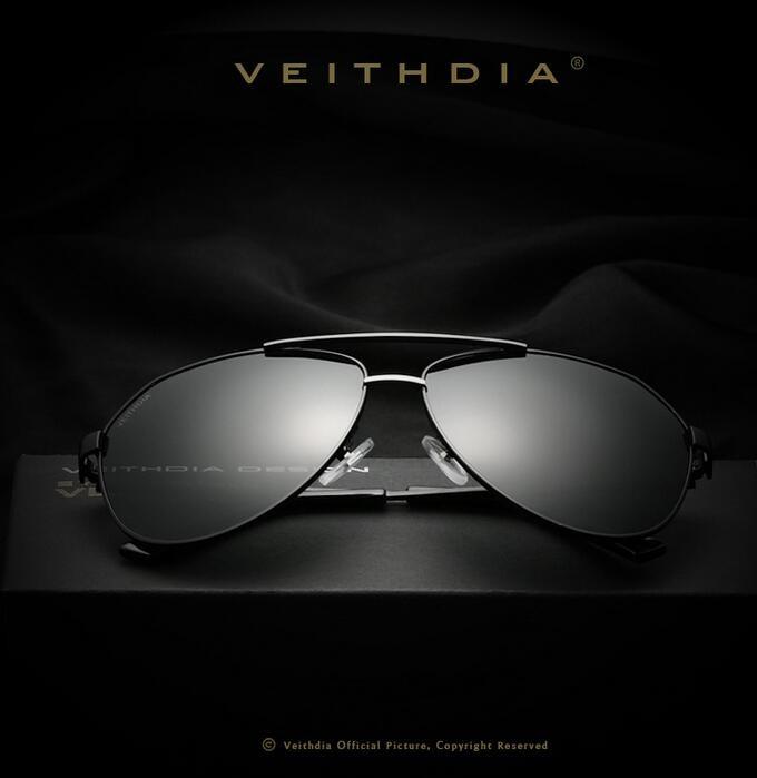 fe43cc2872 VEITHDIA Brand Best Men s Sunglasses Polarized Mirror Lens Driving Fishing  Eyewear Accessories Driving Sun Glasses For