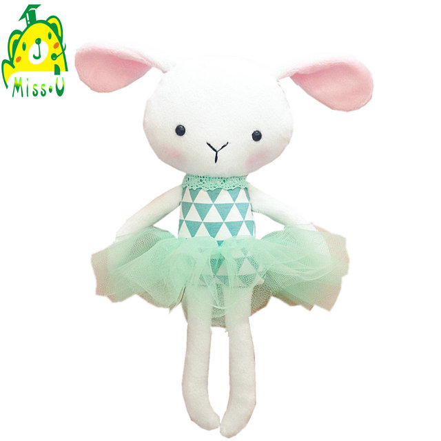 Cute custom Soft cuddly Plush & stuffed <strong>rabbit</strong> have Bunny horn baby toy