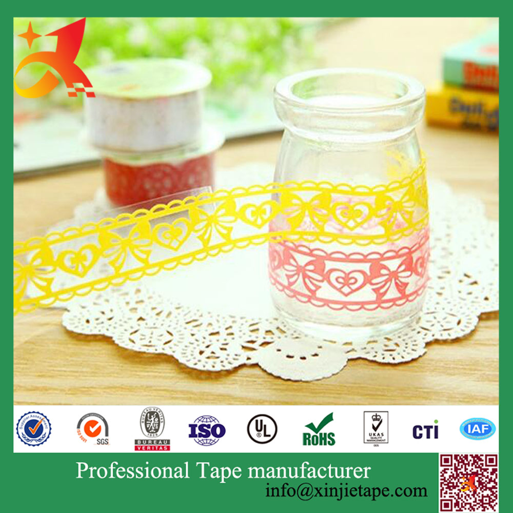 Custom Printed Tape, Cheap Kids Adhesive DIY Tape glitter paper pin
