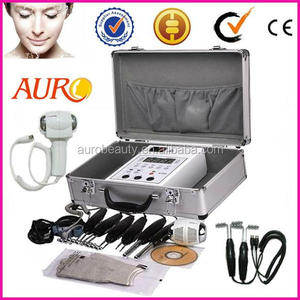 Portable BIO face lift skin lift beauty machine Hot cold hammer device for skin care AU-2011