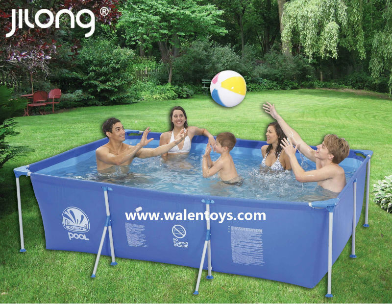 Inflatable Rectangular Pool,jilong Swimming Pool , Adults Wading Pool