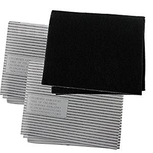 Spares2go Cooker Hood Carbon Grease Filter Kit For Hotpoint Kitchen Extractor Fan Vent