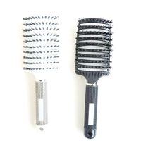 Wholesale Professional Salon Barber Hair Styling Brushes Combs Boar Bristle Brush