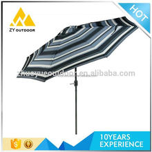 Cheap price promotional leisure style easy sun parasol