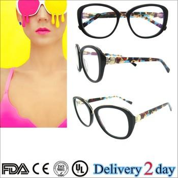 Super Hot Selling Myopia Glasses Leopard Vintage Round Eyeglass ...