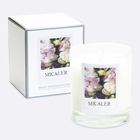 organic handmade home decoration private label luxury scented jasmine lavender candles