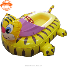 Hot Funny Summer Promotion Children Play Pvc Inflatable Electric Water Bumper Boat For S/motorized bumper boat
