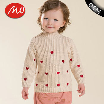 Lovely Pullover Organic Jersey Hand Knitted Sweaters For Wholesale