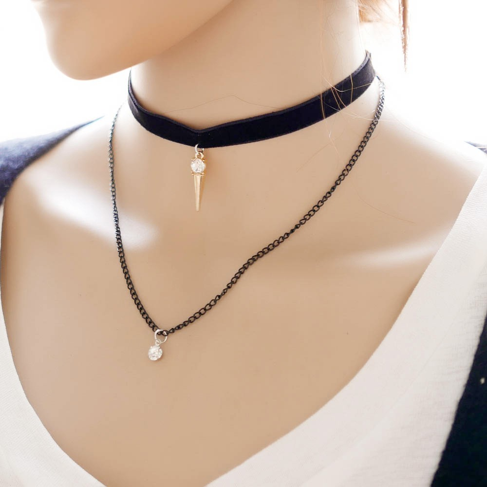 Fashion Black Neck Choker Necklace Wholesale Collar