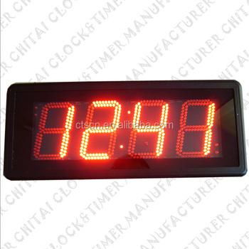 69e313d08 Cuenta atrás/cronómetro/reloj despertador pantalla grande 4 dígitos matriz  llevó temporizador