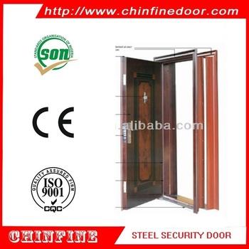 China Steel Door Low Prices Pressed Steel Door Frames With Ce ...