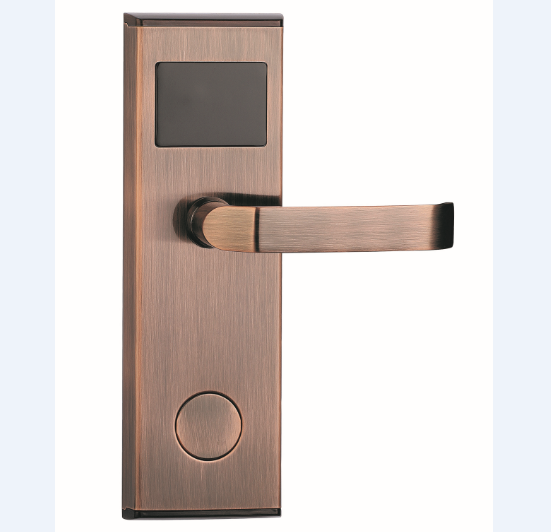 Modern wireless electronic smart hotel tcp ip rfid key card reader entry door lock system price