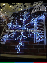 blue and white led bright star christmas lights