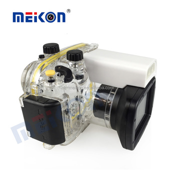 Underwater Camera Case G1X 40 meters 130ft Waterproof Digital Camera Housing for Canon