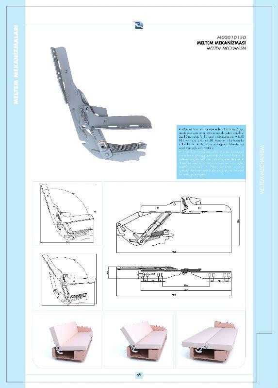 Clic clac m canisme charni re de meubles id de produit 126486187 - Mecanisme pour clic clac ...
