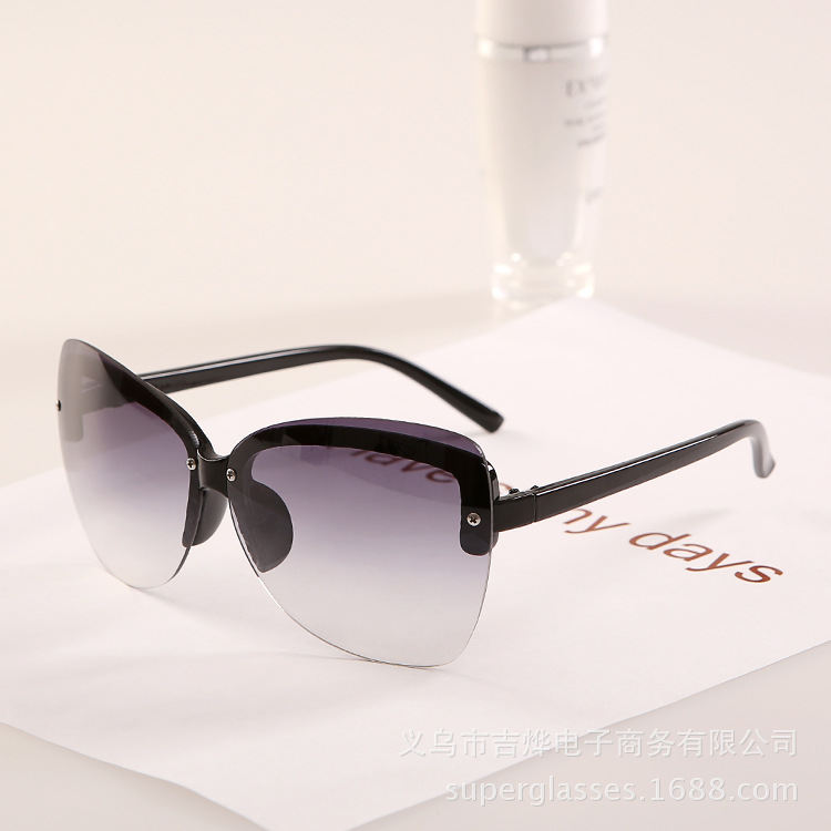 Luxury 2015 Vintage Women Sunglasses No Frame Lade Elegant Glasses J146 Original Vogue Sun For Brand Men Branded Luxury