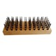 Brass Copper Wire brush for cleaning anilox roll