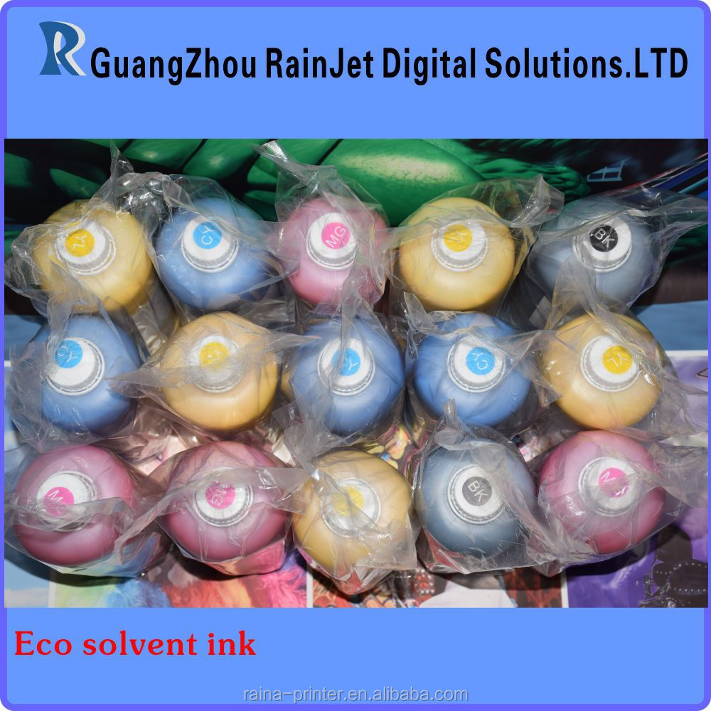 eco solvent ink For Mimaki Roland Mutoh Galaxy Pheaton A-starjet Gongzheng Wit-color with dx4 dx5 dx7 head