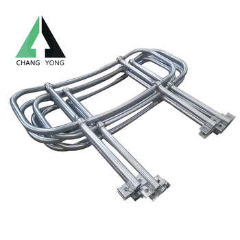 galvanized steel handrailing for industry ladder
