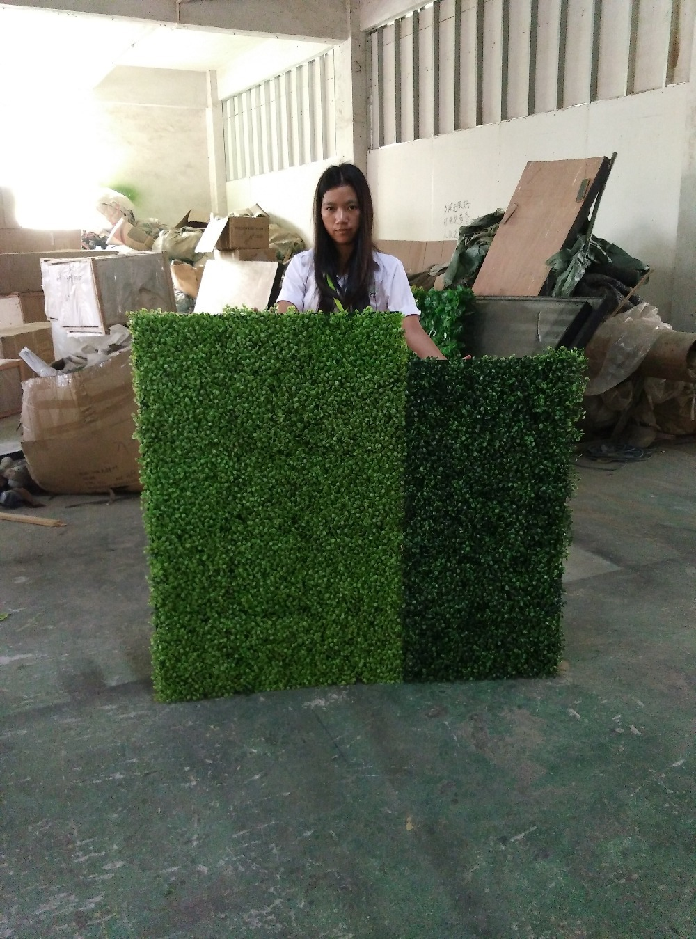 Factory Price Indoor Artificial Grass Turf For Wall