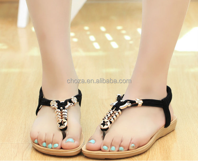 C24048A LATEST SUMMER HOT-SELLING CASUAL BEACH WOMAN'S SANDAL