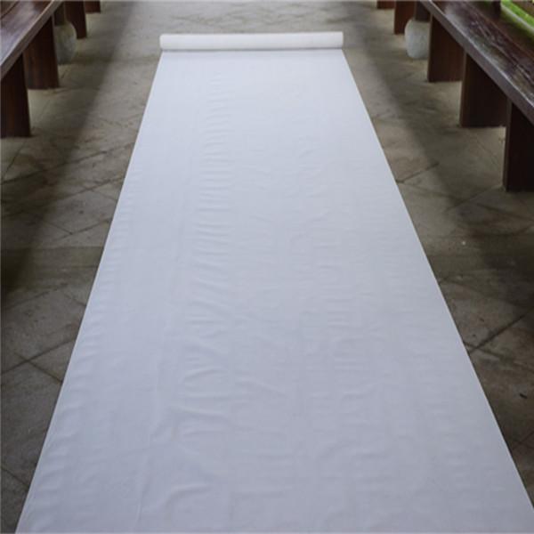 White Carpet Aisle Runner Rental