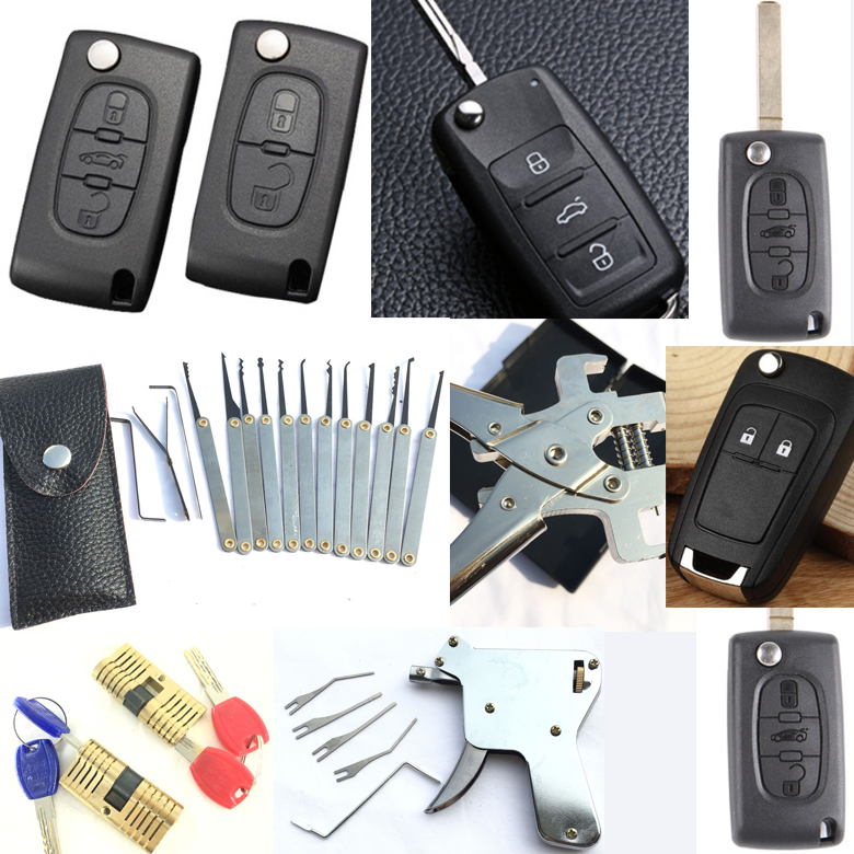 Lock Pick Set Huk Locksmith Tools Lock Picks Auto Remote Key Blade Pin  Disassembly Tools Kit Piler - Buy Lock Pick Set,Huk Locksmith  Tools,Locksmith