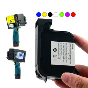 China universal ink cartridges wholesale for handheld inkjet printer fast dry ink quick-drying JS10 JS12 M2790K 2588