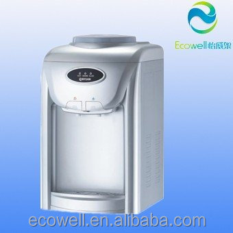 hot and compressor cooling desktop water dispenser