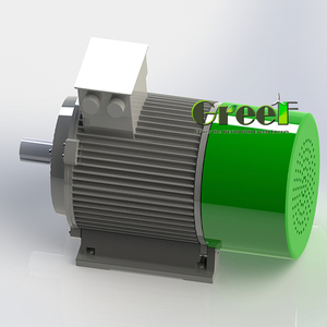 10 kw Low rpm 3 phase permanent magnet generator / alternator for wind turbine