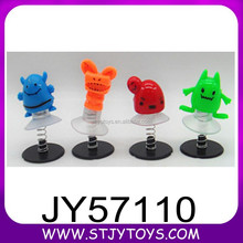 Novelty promotional gift kids mini plastic jumping toy jumping elf toys