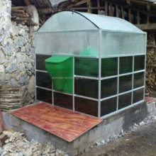 Sunrise Assembly portable mini biogas plant for houses kitchen garbage