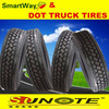 smartway and DOT truck tyres 11r24.5 tires for sale for American market with product liability insurance