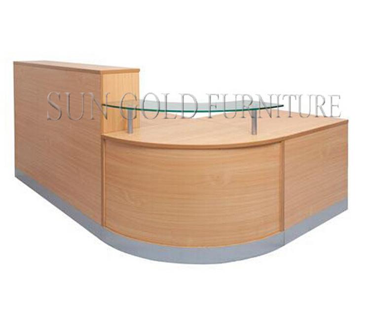 Modern Wood Half Round Glass Top Reception Desk (sz Rt007)   Buy Half Round Reception  Desk,Round Reception Desk,Glass Reception Desk Product On Alibaba.com