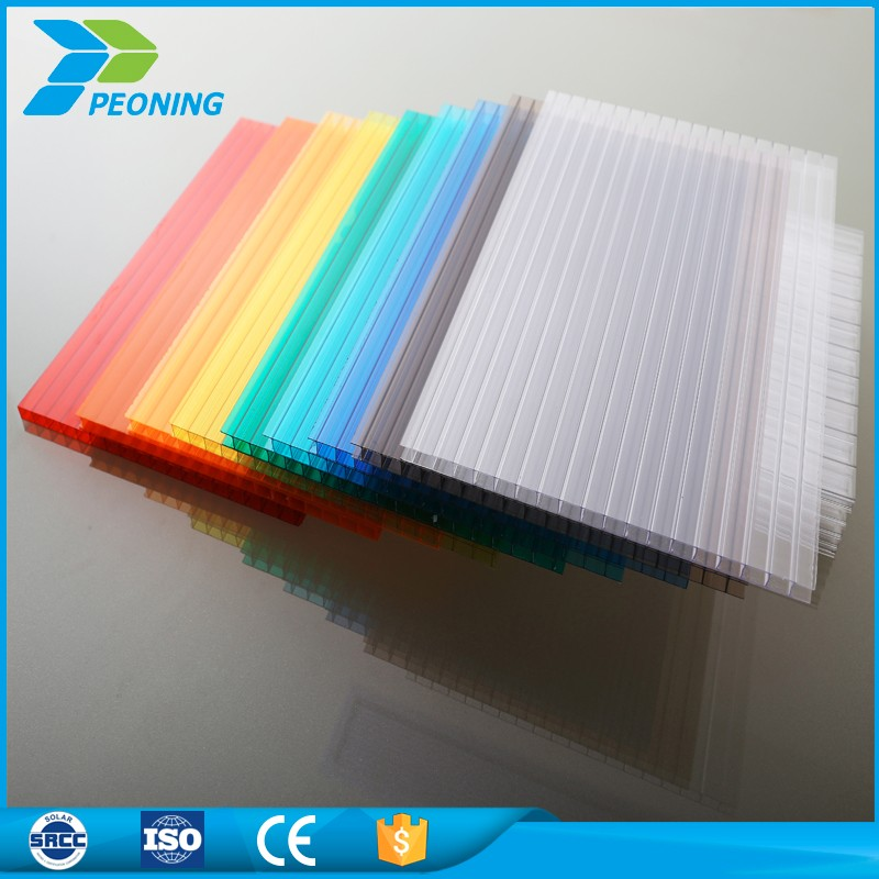 Colored Uv Resistance Polycarbonate Sheet Poly Roofing - Buy Colored ...
