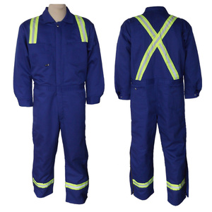 Wholesale factory manufacturer EN20471 high visibility reflective coveralls for industry