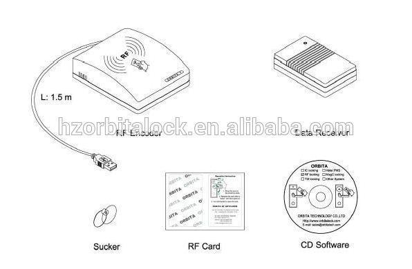 split design model smart door lock with hotel card encoder buy