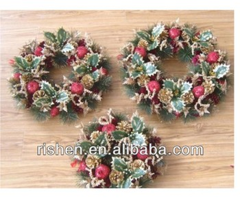 Gorgeous Christmas Wreath With Decoration For Sale Buy
