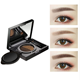 Private Label Makeup Eyebrow Enhancer Air Cushion Eyebrow Gel Waterproof Long Lasting Dual Color Eyebrow with Brush