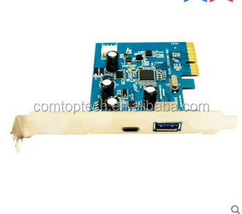 Usb 3.1 2 Lan Pci Express Card (2 External Ports + 2 Internal ...
